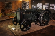 photograph: Fordson tractor © St Fagans National History Museum