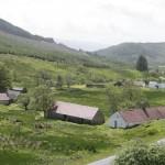 Auchindrain historic Highland farm township © The Auchindrain Trust