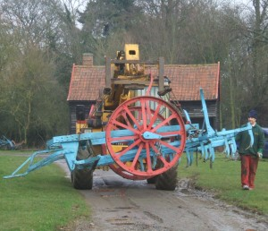 Cultivator and harrows arrive at Stowmarket © Museum of East Anglian Life