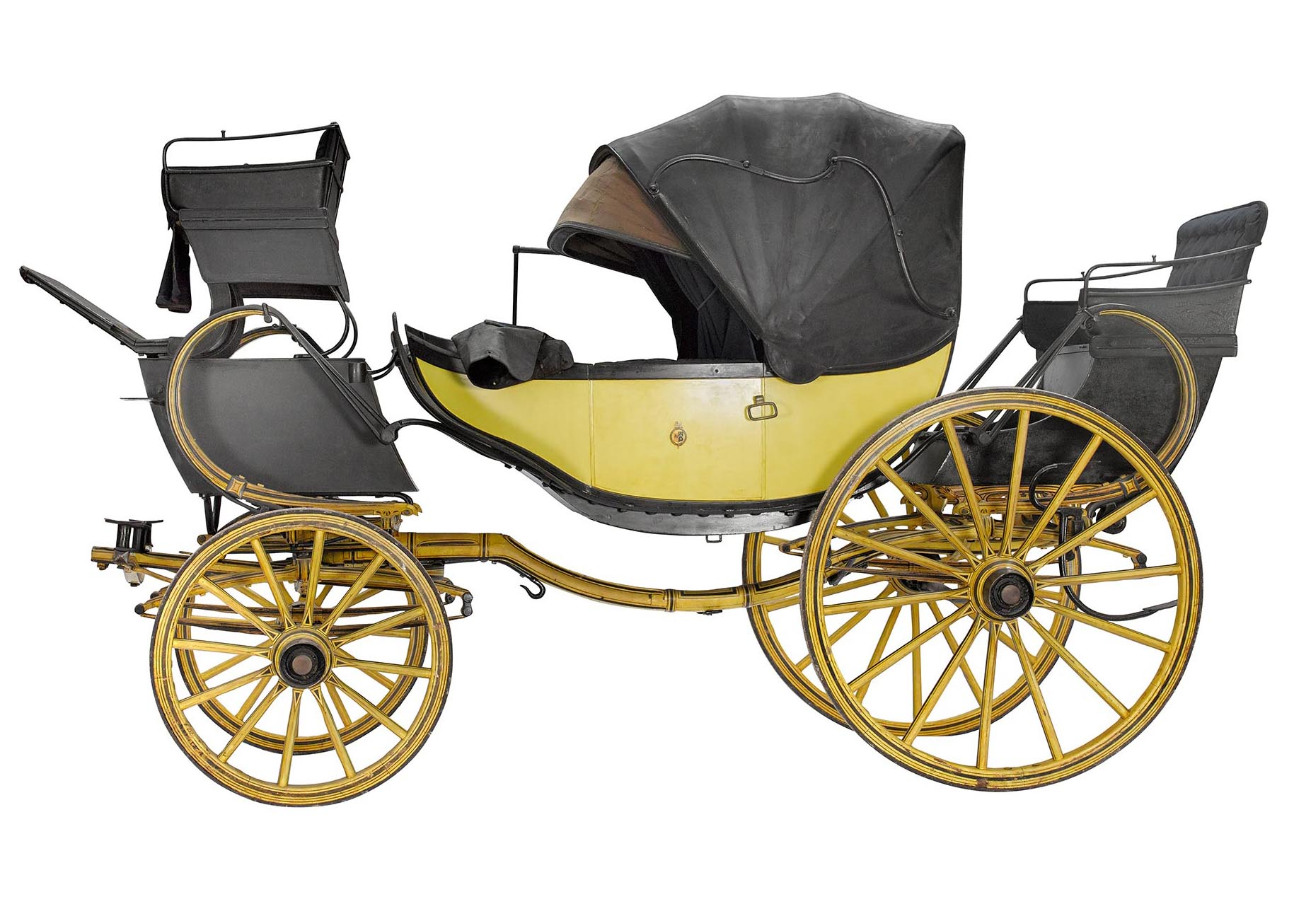 The Staffordshire Carriages website features 3D imaging that you can rotate and zoom in to explore detail, including this luxury Barouche.