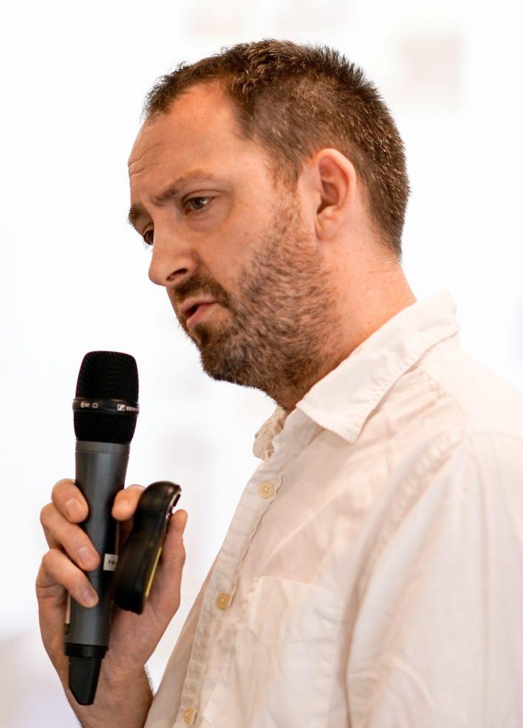 Photograph of Dr Ollie Douglas